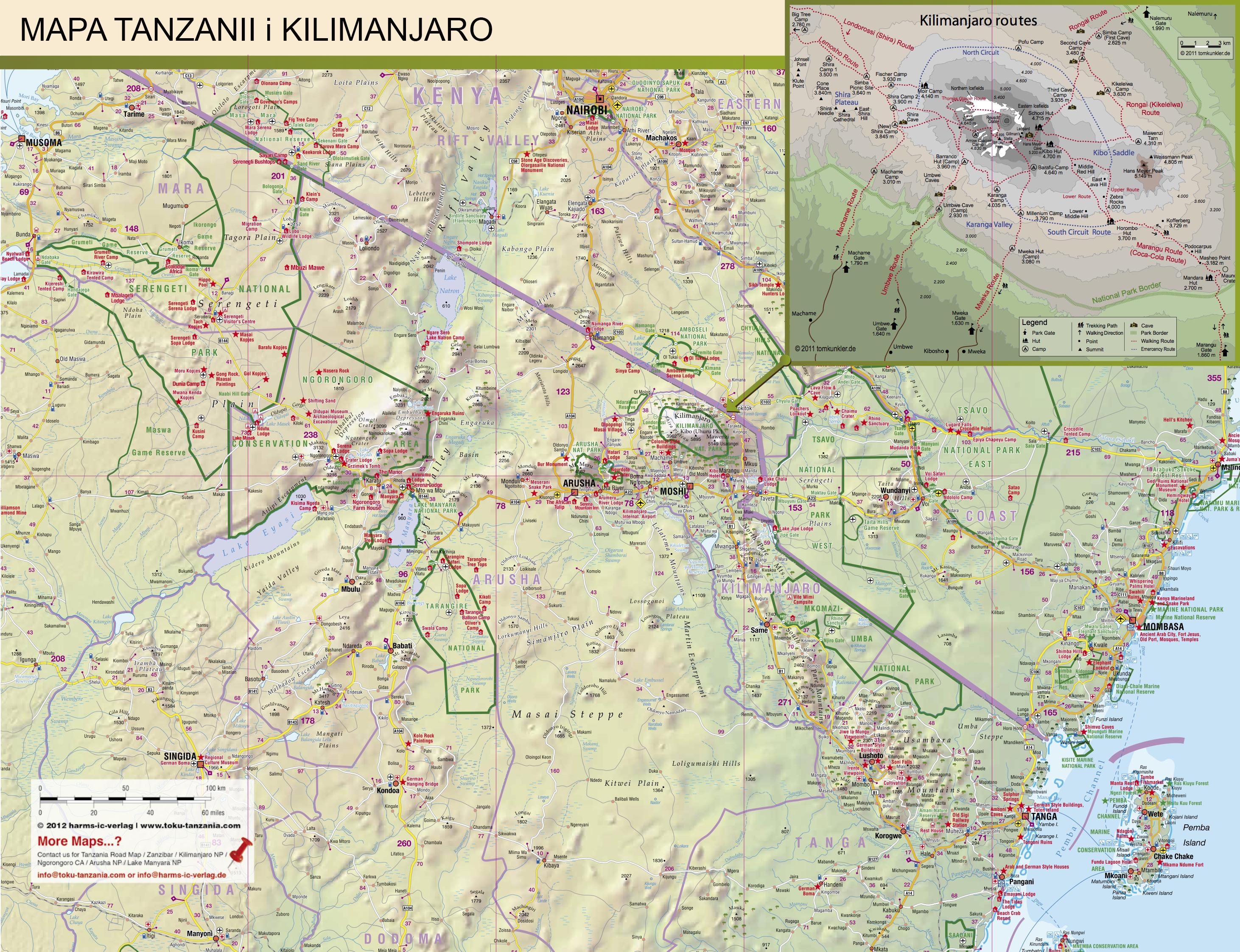 Mapa TZ dla gości ZANZI