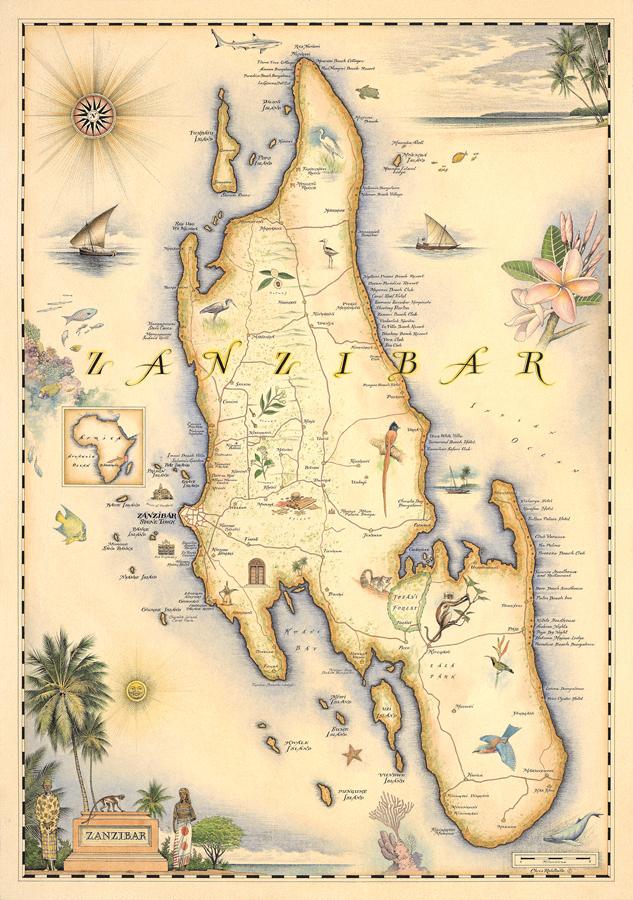 Mapa ZNZ